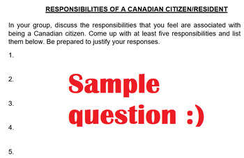 Grade 10 Introduction to CIVICS!