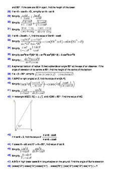 Grade 10 Trigonometry Workbook - 100 problems with solutions and insights