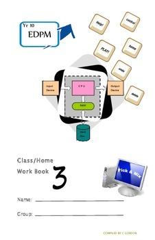 Grade 9 Grade 10 Year 10 EDPM ICT Homework Booklet Part 3/3