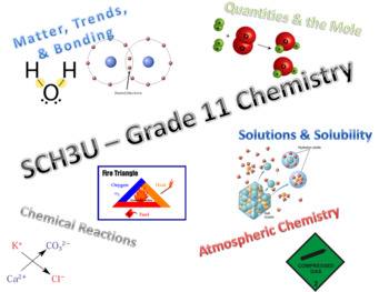 Grade 11 Chemistry - FULL COURSE! (Ontario Curriculum University-Prep -  SCH3UO)