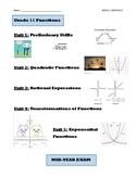 Grade 11 Functions Course Pack, MCR3U, Book 1 (Lessons, Te