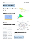 Grade 11 Functions Course Pack, MCR3U, Book 2 (Lessons, Te