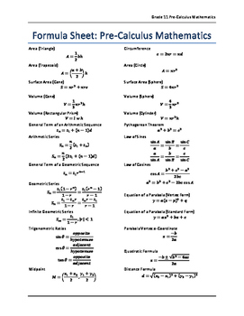 pre calculus grade 11 pdf download