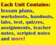 Grade 11 SBI3U Biology Units for the ENTIRE SEMESTER!
