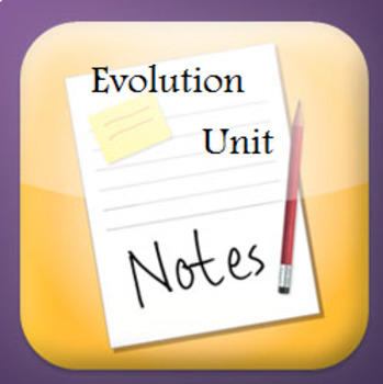 Grade 11 and 12 Evolution Unit REVIEW Questions, Games and Notes!