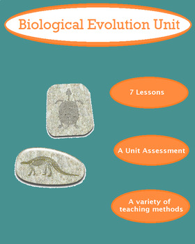 Grade 11 and 12 Lessons for Entire Evolution Unit!