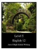 Grade 12 English Writing Development