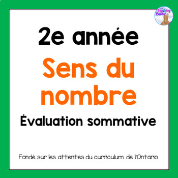 Grade 2 Counting  Test (French)