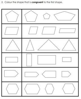 Grade 2 2D Geometry Assessment 2014