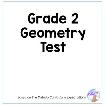 Grade 2 2D Shapes Test