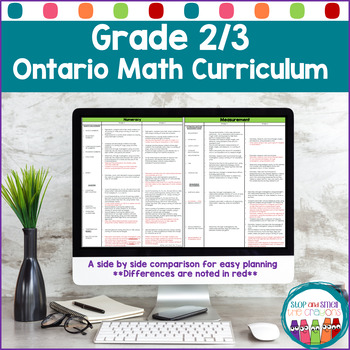 Grade 2/3 Math Curriculum