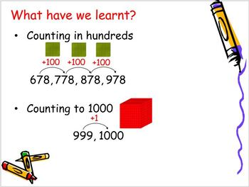 Grade 2 - 3 Maths - Numbers to 1000 (See full title below)