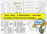 Understanding Place Value Grade 2 NBT.A.1 A.2 A.3 A.4 Worksheets & Activities