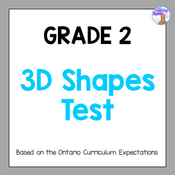 Shapes Test Teaching Resources | Teachers Pay Teachers