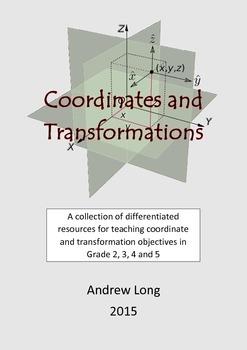 Grade 2-5 Coordinates and Transformations