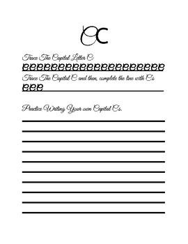 Grade 2-5 Cursive Packet