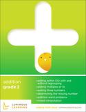 Grade 2 Addition Workbook: Making Math Visual
