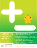 Grade 2 Addition and Subtraction Workbook: Making Math Vis
