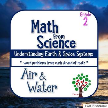 Word Problems from Science: Air and Water Grade 2