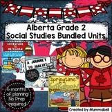 Grade 2 Alberta Social Studies Inquiry Bundle Unit