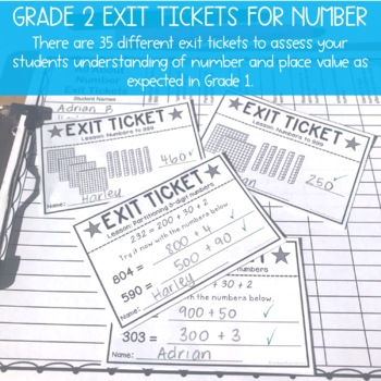 Grade 2 All About Numbers BUNDLE