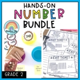 Grade 2 Number Sense BUNDLE {All About Numbers} Place Valu