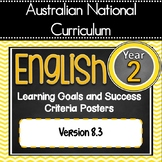 Version 8.3 - Grade 2 All English Learning Goals & Success Criteria! AC