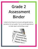 Grade 2 Assessment Binder