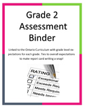 Grade 2 Assessment Binder