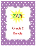 ZAP! Sight Word & Word Work Game ~ Grade 2 BUNDLE (3 Word lists!)