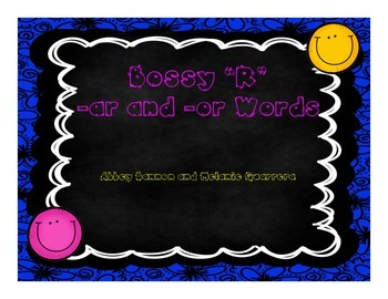 "Grade 2 - Bossy ""R"" -ar and -or Practice Pack"