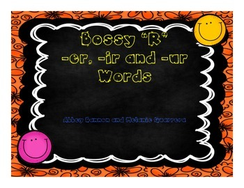 "Grade 2 - Bossy ""R"" -er , -ir and -ur Practice Pack"