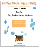 Grade 2, CCS: Math Bundle: Geo, Alg, M&D, Base 10 for Stud