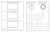 Grade 2 CCSS Math Quick Check - Part 2