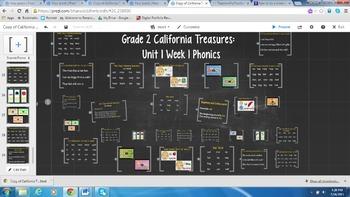 Grade 2 California Treasures Unit 1 Week 1 Phonics Prezi