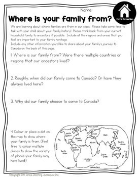 Grade 2 Changing Family and Community Traditions: Ontario Social Studies Unit