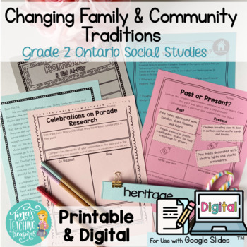 Grade 2 Changing Family and Community Traditions: Ontario