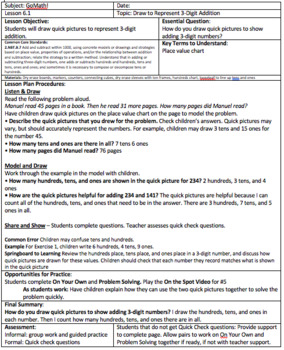 Grade 2 - Chapter 6 - Lesson Plans for the Whole Chapter! Lessons 1-10