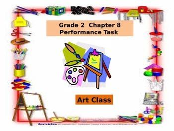 2nd Grade  Chapter 8  Math Performance task