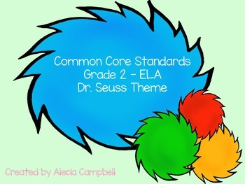Grade 2 Common Core ELA Standards Tufts Colored Tree Bright