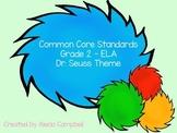 Grade 2 Common Core ELA Standards Tufts Colored Tree Bright