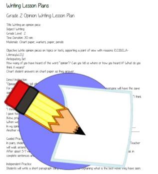 Grade 2: Common Core ELA Writing Bundle