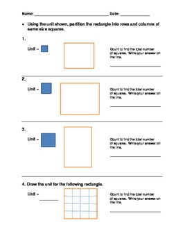 Grade 2 Common Core Geometry Test