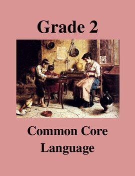 Grade 2 Common Core Language: Editing and Revising -- Connecticut