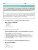 Grade 2 Common Core Language: Editing and Revising -- Sports