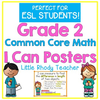 Grade 2 Common Core Math I Can Posters