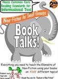 Grade 2 Non Fiction Reading Group Booktalks