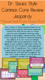 Grade 2 Common Core Review Jeopardy - Dr. Seuss Style **EDITABLE TEMPLATE**