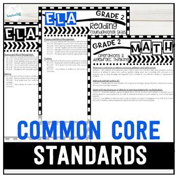 Grade 2 Common Core State Standards