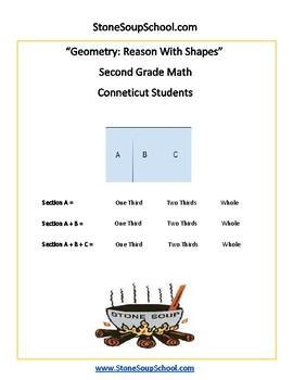 Grade 2 - Connecticut -  Geometry  - Common Core